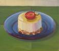 "Cheesecake<br>2006, Oil on canvas, 13"" x 15"""
